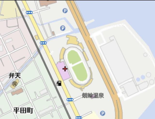 別府競輪場の画像