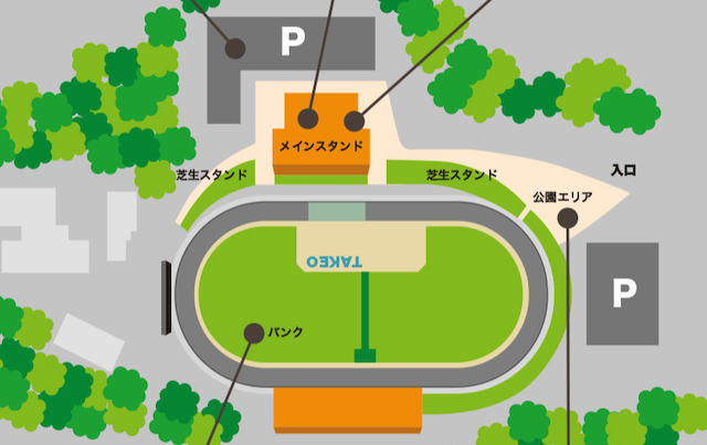 武雄競輪場の施設画像